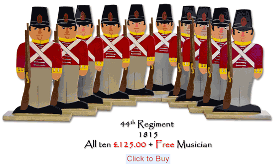 44th Regiment 1815