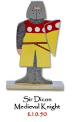 Sir Dicon, Medieval Knight - £10.50