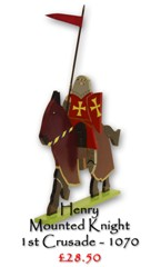 Henry, Mounted Knight, 1st Crusade - £28.50