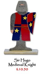 Sir Hugo, Medieval Knight - £10.50