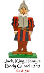 Jack, King Henry's Body Guard - £18.50