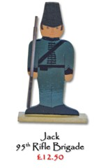 Jack, 99th Rifle Brigade - £12.50