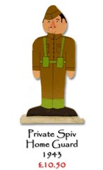 Private Spiv, Home Guard - £10.50