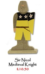 Sir Richard, Medieval Knight - £10.50