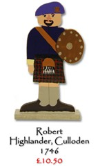 Robert, The Higlander - £10.50