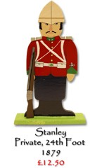 Stanley, Private 24th Foot - £12.50